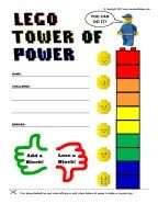 A mama with ideas...: Lego Reward Chart Printable and other ideas...