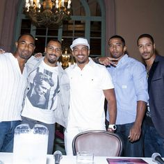 Merge Summit 2013-  with actors Jason George, Omari Hardwick, Laz Alonso, Christian Keyes, and Brian White.