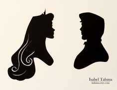 Once Upon a Dream - Hand-cut paper silhouettes.