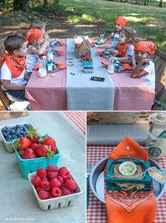 Farm Themed Birthday Party with Lots of Cute Ideas via Kara's Party Ideas | KarasPartyIdeas.com #FarmParty #AnimalParty #Barnyard #PartyIdeas #PartySupplies