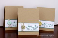 {a little of this & that}: masculine thank you's...