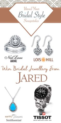 Get in to #Win #Bridal #Jewelry from Jared! #fashion #wedding #contest VALID UNTIL NOV 6