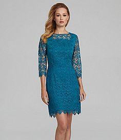 Antonio Melani Kinga Floral Lace Dress #Dillards