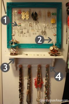 out of all the jewelry organization ideas, i think i can finally say im going to do this one :)