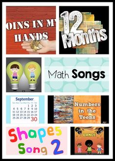 Math songs for your classroom!
