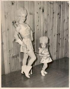 Betty Lou Townes Majorette by Vintage_photoworld, via Flickr