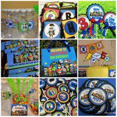 SUPERHERO Party Package Personalized Birthday by PinkPickleParties, $30.00