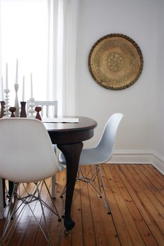 dining rooms, house tours, houses, modern chairs, eam