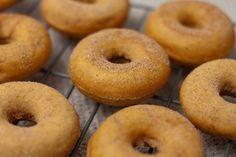 Pumpkin Spice (baked) Mini Donuts