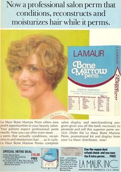 La Maur Bone Marrow Perm. Yuck.