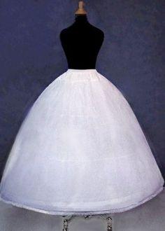 wedding dress crinoline