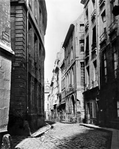 Rue Serpente Paris 1858 - Charles Marville