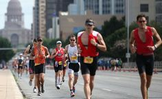 Things get started at the CapTexTri with a swim at Lady Bird Lake before athletes break out the bikes for a race through Austin, leading up to a foot race around the southern part of the lake. (Courtesy Austin Convention & Visitors Bureau) From: 12 Memorial Day Getaways.