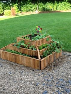 Planter from pallets #Pallet, #Planter