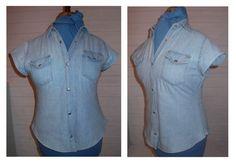 Miss P: ReStyle # 2 - Denim Shirt Dress