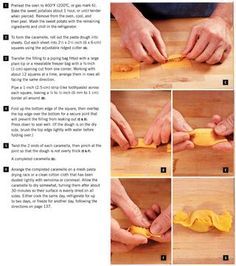 How to form caramelle shaped pasta