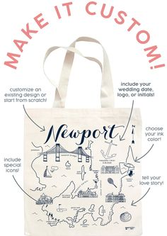 Getting Hitched? Let's Do Custom 💍🍾 « Maptote