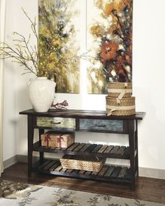 sofa table that I have to have!