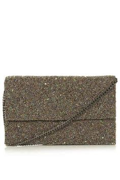 embellished clutch, TOPSHOP