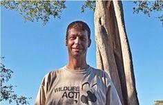 Wildlife monitor, Clinton Wright, for Tembe National Elephant Park