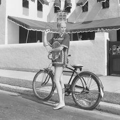 Fotos antiguas de bicicletas: Grace Kelly