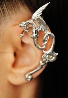 Rodarte metal dragon earring  http://socialmediabar.com/get-started-right-now