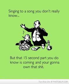haha ya I do.