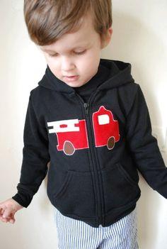 fire truck shirt