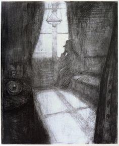 Moonlight.    by Edvard Munch