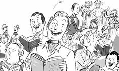 What's so funny about comic novels?