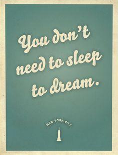 Citizens for Optimism poster, Michelle Alveraz quote