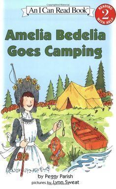 book april, peggi parish, amelia bedelia, camping, reading levels, read books, camp book, children book, grade reader