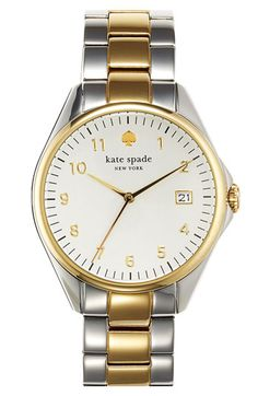 kate spade new york 'seaport grand' bracelet watch available at #Nordstrom