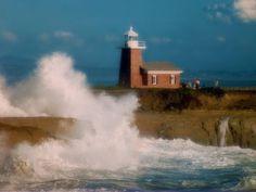 Santa Cruz Lighthouse, Santa Cruz, Calif.  1980