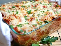 Baked Spaghetti with Sausage