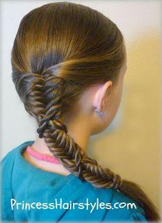 Fishbone Braids with Weave