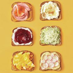 Make the Most of Your Toast - ideas for new toast toppers