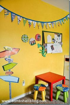 Dr. Seuss Play room by BombshellBling