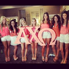 Cute Alpha Chi recruitment outfits