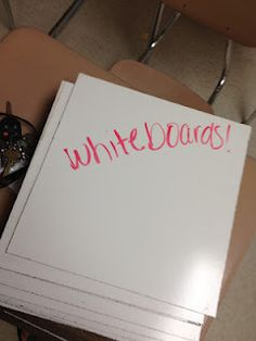 DIY whiteboards from Lowes or Home Depot
