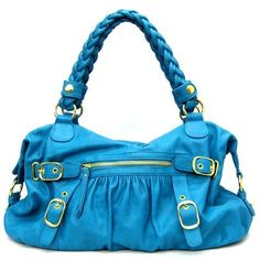 A great Purse, love this shade of Blue. by lottie
