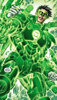 Is that War Machine? No, It's Kyle Rayner.