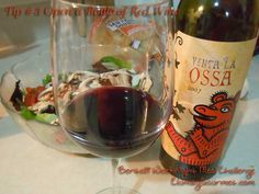 Ossa Red Wine great choice with Italian flavors....to try.