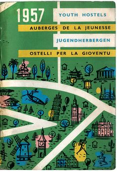 youth hostel guide book 1957