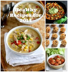 80+ Healthy Recipes for 2014 from favorite blogs | cookincanuck.com #healthy #recipe