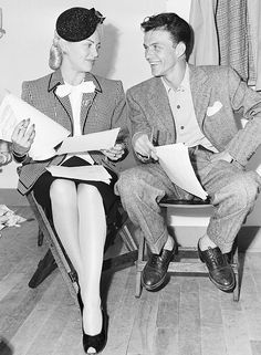 Frank Sinatra & Lana Turner - 1944