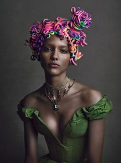 Cora Emmanuel - German Vogue March 2104