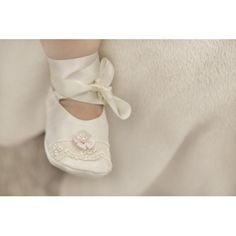 Pretty little baby booties