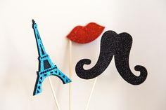 Make Some Memories by creating a few fun props that represent your idea of a fabulous day in Paris.  Print out a few images such as a beret, mustache, red lips and Eiffel Tower and paste them on a thick backing with an attached wooden craft stick.  Et Voila!  Snap away to capture some Instagram-worthy photos of you and your girlfriends. #ParisEscape #ParisCalling #5onFriday