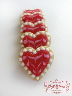 Valentine cookies...